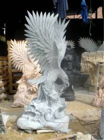 marble Eagle sculpture carving